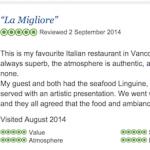 Review of La Piazza Dario