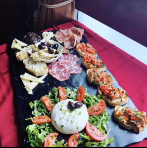 Antipasti at La Piazza Dario